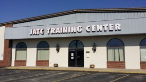 Front of the Terre Haute Electrical JATC Building