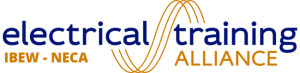Logo of the IBEW - NECA Electrical Training Alliance